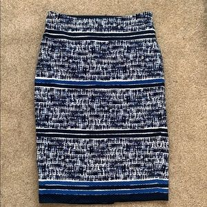 Navy and blue Limited skirt